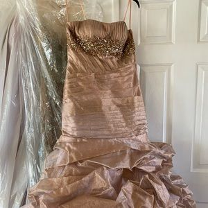 Macduggal couture prom dress